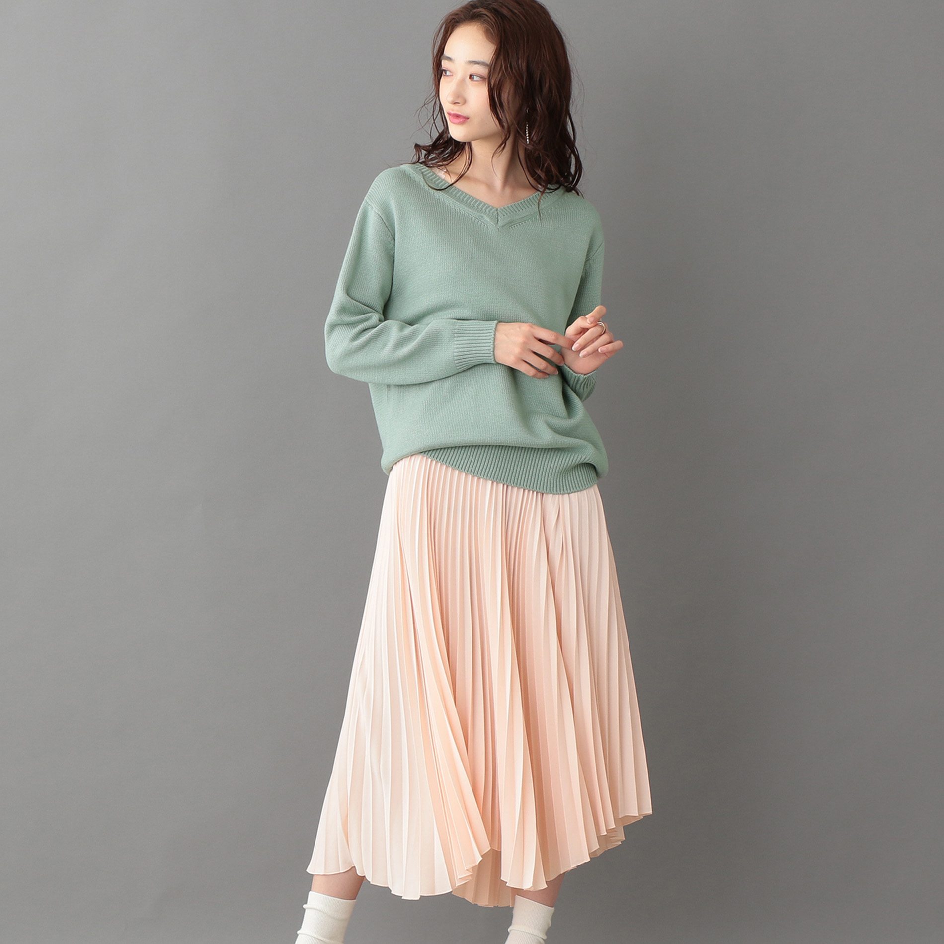 【ドレス人気NO.1】レイヤードプリーツドレス
